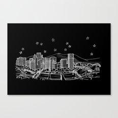 Portland, Oregon City Skyline Canvas Print