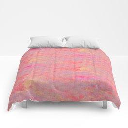 Rain of stars in pink Comforters