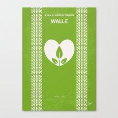 No235 My WALL-E minimal movie poster Canvas Print