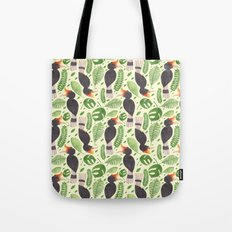 The Tropical Hornbill Tote Bag