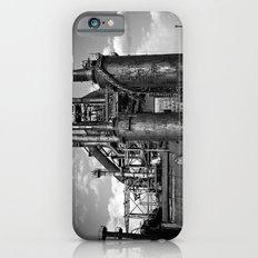 Black and White Bethlehem Steel Blast Furnace Slim Case iPhone 6s