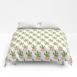 Summer Cacti   Free Hugs Comforters