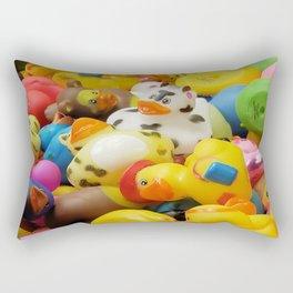 Rubber Duckies Rectangular Pillow
