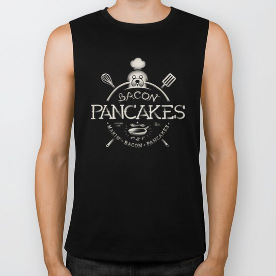 Bacon Pancakes Biker Tank