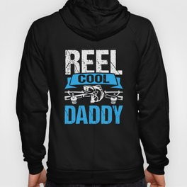 Reel Cool Daddy Gifts From Daughter Funny Fishing Shirt Hoody