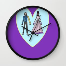 Winter Princess Wall Clock