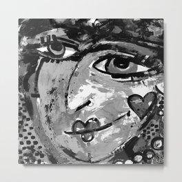She Can Wish 1a by Kathy Morton Stanion Metal Print
