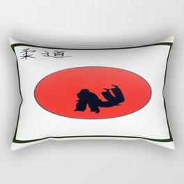 Art Of Judo Print Rectangular Pillow