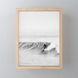 Surf Time Framed Mini Art Print