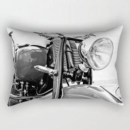 Motorcycle-B&W Rectangular Pillow