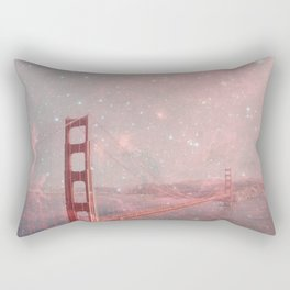 Stardust Covering San Francisco Rectangular Pillow