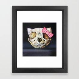 Goodbye Kitty Framed Art Print