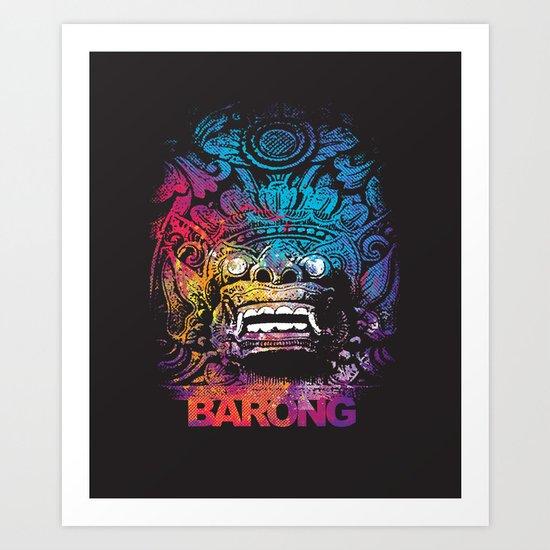 United Colour of Barong Art Print