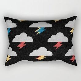 Thunderclouds Rectangular Pillow