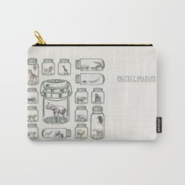 Protect Wildlife - Endangered Species Preservation  Carry-All Pouch