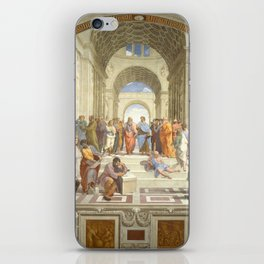 Raphael - The School of Athens iPhone Skin