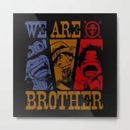 We Are Brother Metal Print