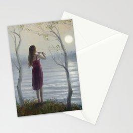 Moon Serenade  Stationery Cards