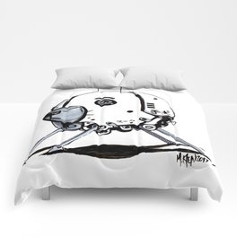 ADORE-A-BOT Comforters