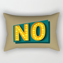 Take the hint Rectangular Pillow