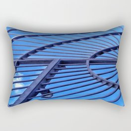 Blue Sky Gate Rectangular Pillow