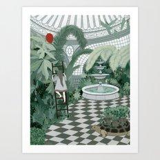 Red Balloon Art Print