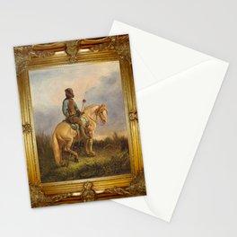 Framed Chief Pachycephalosaurus Stationery Cards