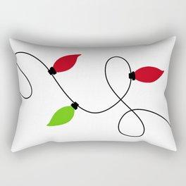 The Magic Of Christmas Lights Rectangular Pillow