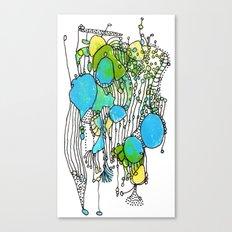 Flurry Canvas Print