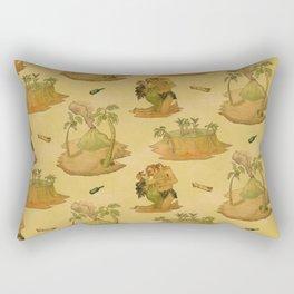 Shipwrecked - Buff Rectangular Pillow