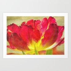 Tulips Make Me Happy Art Print