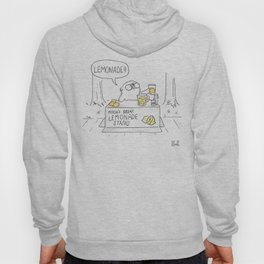 Mochi the pug's great lemonade stand Hoody