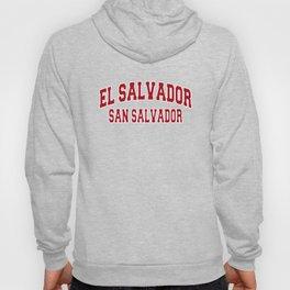 San Salvador El Salvador City Souvenir Hoody