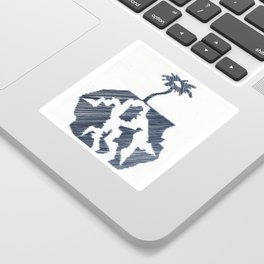 Word Association - Fractal Sticker