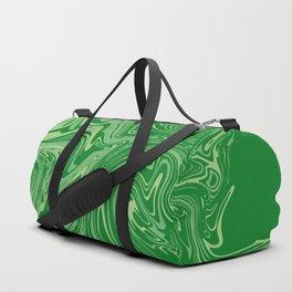 Green pastel abstract marble Sporttaschen