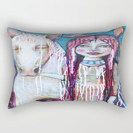 Veil Undone Rectangular Pillow