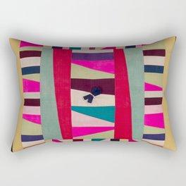 Collage of cloth Rectangular Pillow