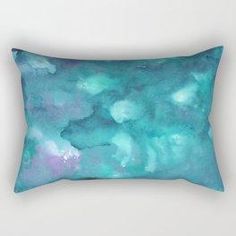 Dreamy Ocean Abstract Painting #2 #ink #decor #art #society6 Rectangular Pillow