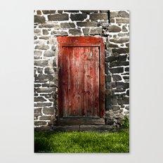 Enter the Farm Canvas Print