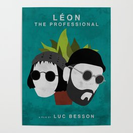 Léon: The Professional, 1994 (Minimalist Movie Poster) Poster