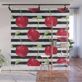 Cherry pattern Wall Mural