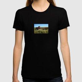 Red Truck in a Corn Field T-shirt