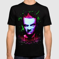 James Cagney, angry Mens Fitted Tee 2X-LARGE Black