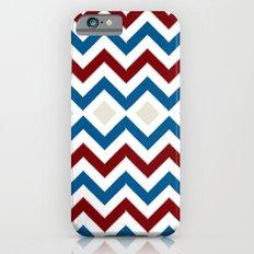 Nautical Chevron iPhone 6s Slim Case