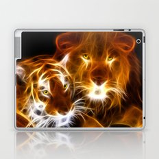 tiger lion  Laptop & iPad Skin