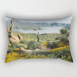 Arizona Blooms Rectangular Pillow