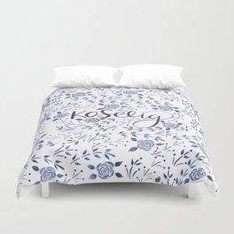 Koselig - Blue Duvet Cover