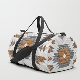 Urban Tribal Pattern No.8 - Aztec - Wood Sporttaschen