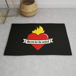 Born to be wild Rug