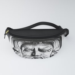 Disapproving Scowl Fanny Pack
